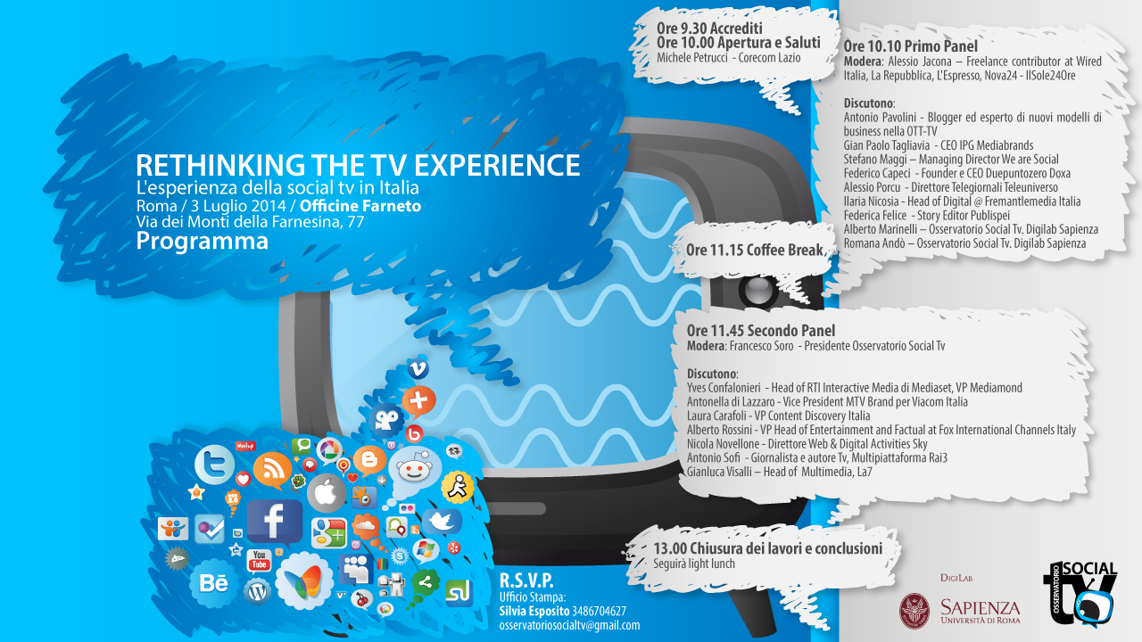 RETHINKING THE TV EXPERIENCE-programma