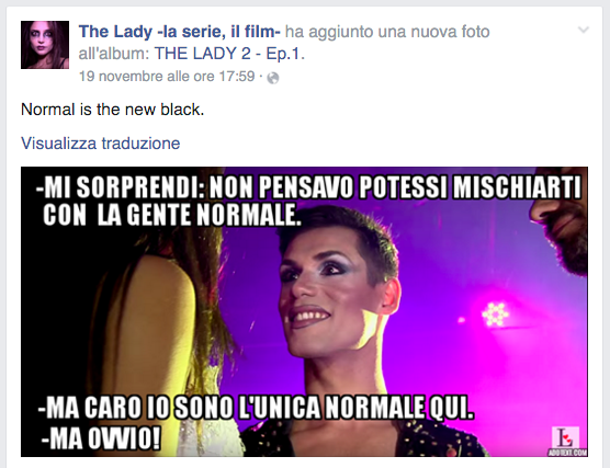 The Lady Fanpage