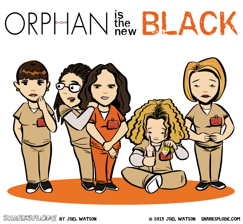 Orphan is the ner black graf