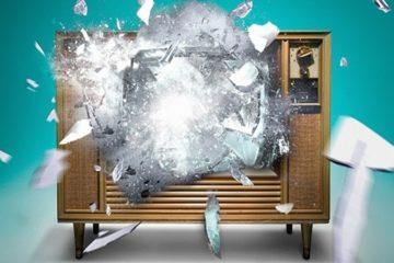 esplosione tv